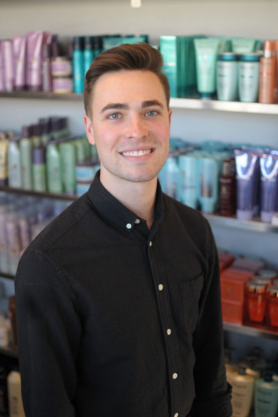 headshot of Andrew Brown - Salon Education Lead, Redken Color Certified