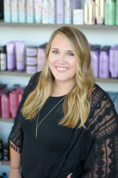 headshot of Haley Boisclair - Salon Educator