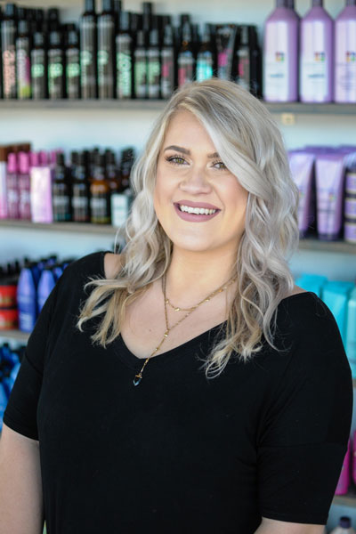 headshot of Adison Lewis - Salon Educator, Redken Color Certified